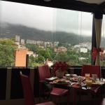 Outstanding view of El avila. Great breakfast