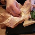 Excellent baked camembert