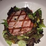 Seared Tuna Salad - cooked perfectly