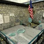 La tombe de Lafayette.