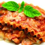 Capri's rich Lasagna -- A Sunday Family Dinner special for $11.99