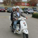 Valencia on Vespa tour.....