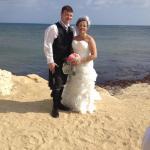 Post wedding pics