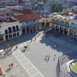 Plaza Vieja vom Hoteldach aus
