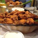 The famous chicken wings!