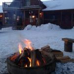 un petit feu pour ce réchauffer