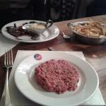 Steak tartare & entrecote