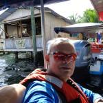 Llegando al centro de Bocas del Toro