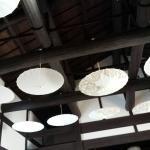 Hand-crafted umbrellas as deco