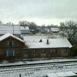 La campagne alsacienne sous la neige