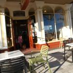 view of the frontage from our outside table