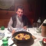 Abendessen in der Stube - köstlich aufgetischt!
