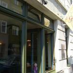 Das Eiscafé Il Gelato von außen