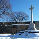 La Croix du Sacrifice, en mémoire des militaires canadiens morts pendant les différents conflits