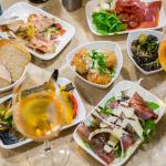 Cicchetti Italian Tapas to share with friends - don't forget the Prossecco!