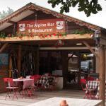 Alpine Restaurant Entrance