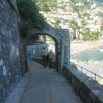 spiaggia e porto Positano