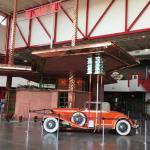 Tydol Filling Station designed by Frank Lloyd Wright