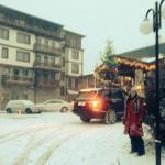 λιγο χιονι εξωτερικά