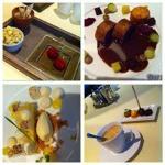 foto van de mooie gerechten