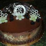 Chocolate Blackberry Cake
