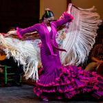 Susana Casas bailando por alegrías