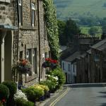 Picturesque and working town of Kirkby Lonsdale