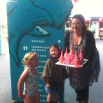 Birthday at Waiwera