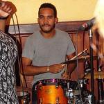 Levi Silvanie op de drums!!