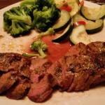 LAREDO STEAK AND VEGGIES