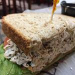 Chicken salad sandwich is yum!
