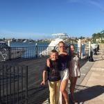Beautiful marina walk