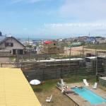 vista do alto do hostel