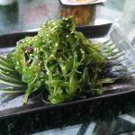 Seaweed salad!