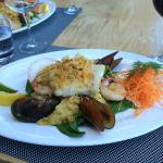 Lunchtime Special; Sicilian Seafood….delicious!