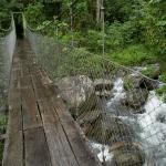 Bridge over the Caldera river
