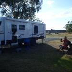 Our caravan on a Powered site