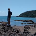 On a day trip to Russell, across the bay from Paihia