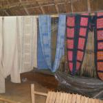 native textiles in museum