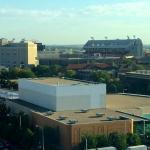 View from Room - Memorial Stadium