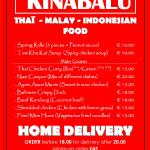 Home Delivery Menu