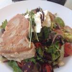 Tropicana salad with seared tuna steak $23.
