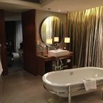 The grand bathroom