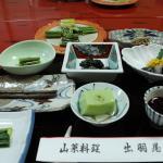 5月の旅行 夕ご飯 小鉢