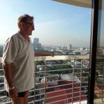 Manila skyline at 7:00am from 15th floor room