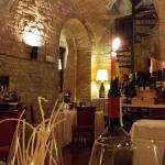 La sala del ristorante Porta Tessenaca