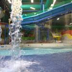 WaterWorld pool and slides