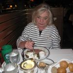 Claudia Wilczynski loves the pasta at Zuckerello's
