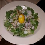 Scungilli and Calamari salad
