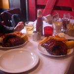 The spare ribs